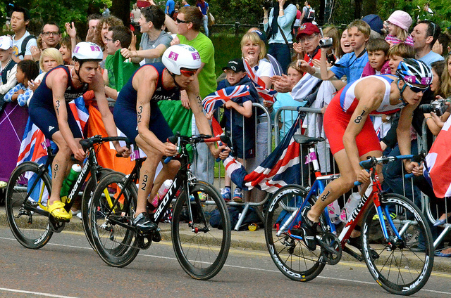 CyclingLondonOlympicTriathlon