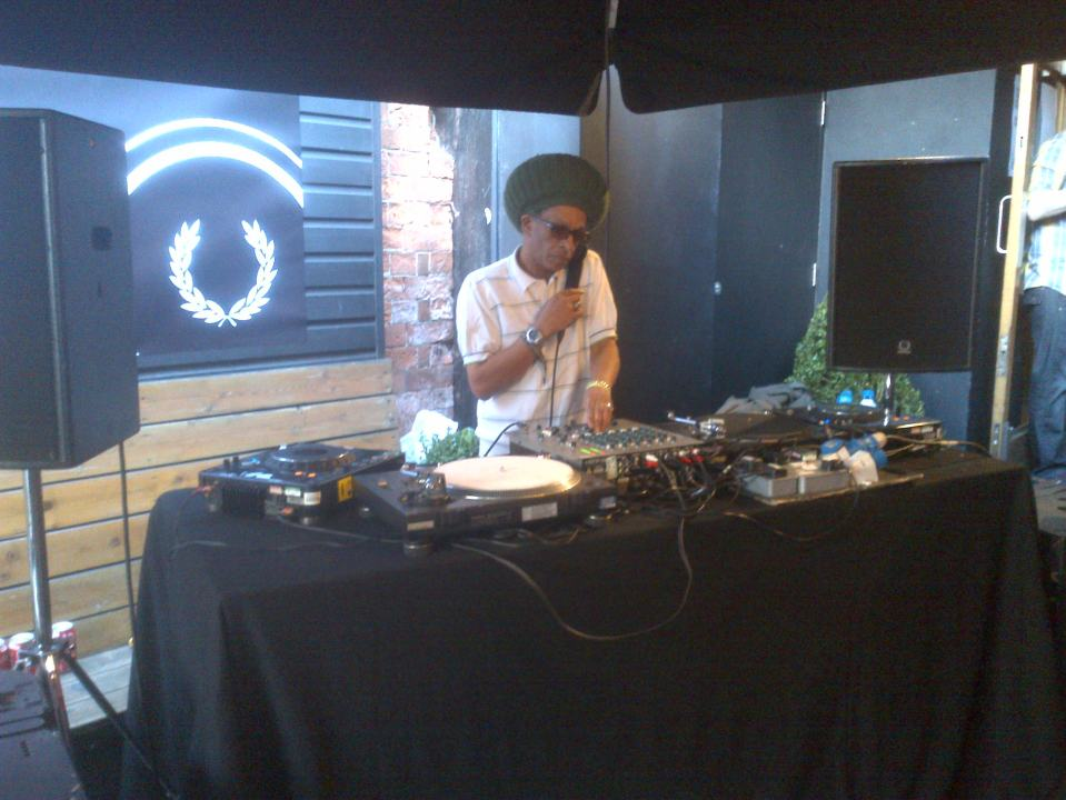 Don Letts, Rescue Rooms Patio