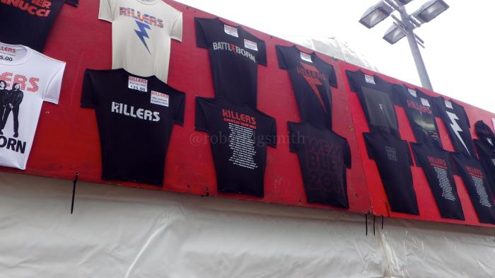 TheKillersWembleyMerchandiseShirts