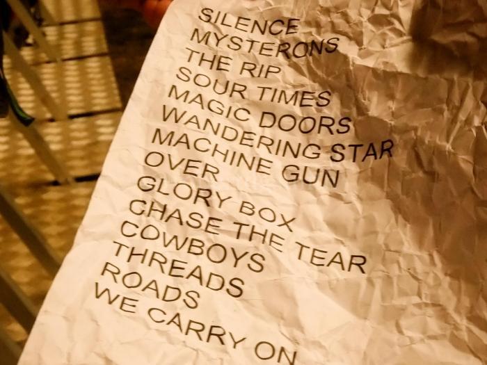 Portishead Setlist
