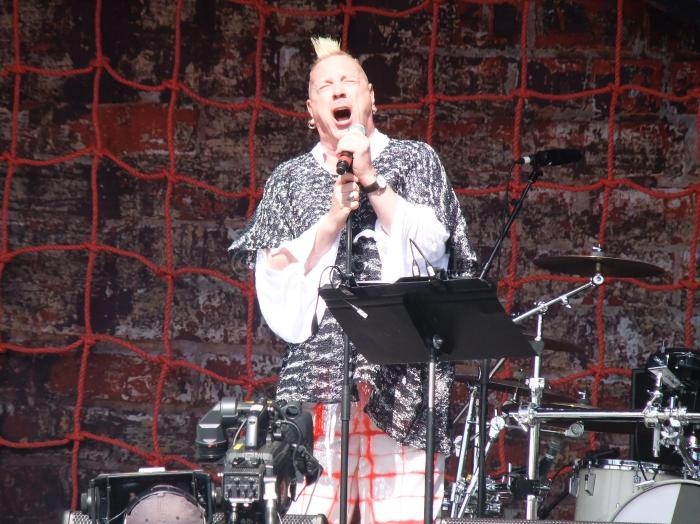 John Lydon of Public Image Ltd, The Other Stage
