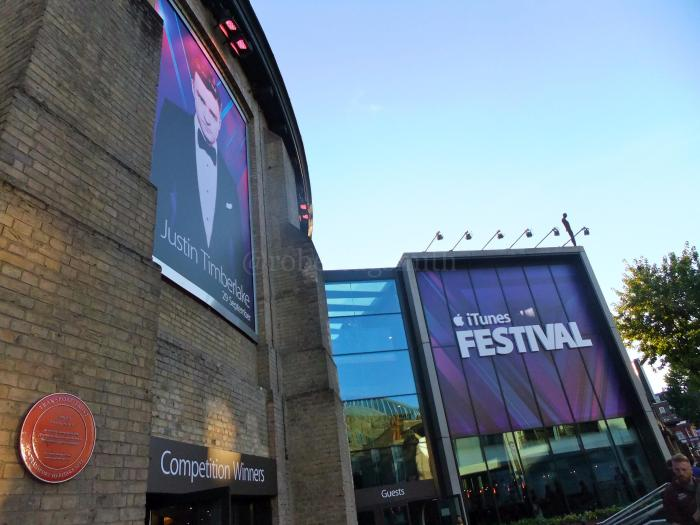 iTunes Festival showcases the biggest names in music every night of September