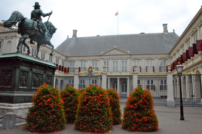 Noordeinde Palace, an official palace of the Dutch royal family.
