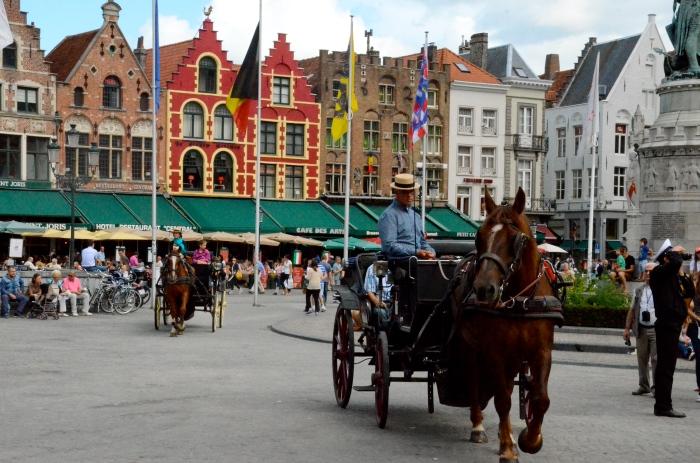The Markt, Bruges (Brugge)