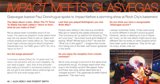 Impact Magazine, Oct 2013
