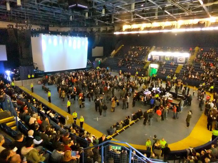 Capital FM Arena Nottingham Inside