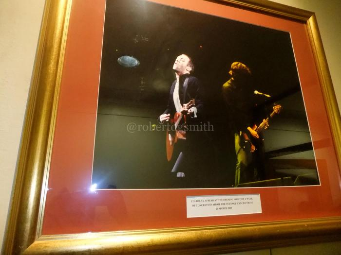 Coldplay Royal Albert Hall Framed Picture