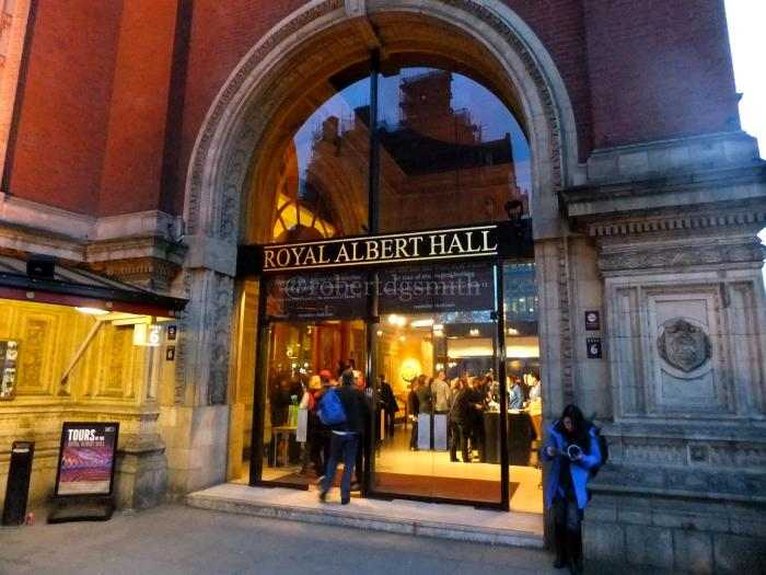 Royal Albert Hall Outside Door