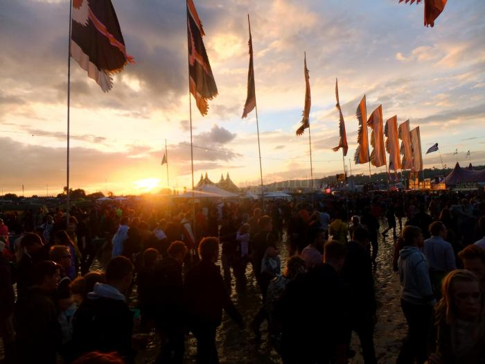 Sunset2Glastonbury2014