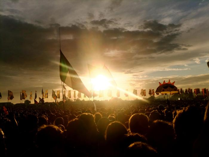 SunsetGlastonbury2014