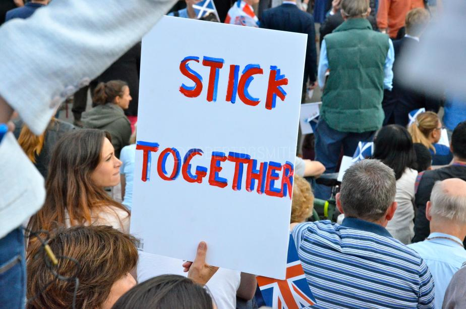 Let's Stay Together rally, Trafalgar Square, London