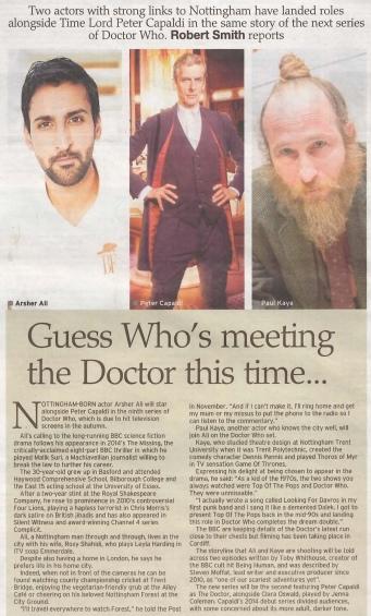 Nottingham Post, 16 January 2015