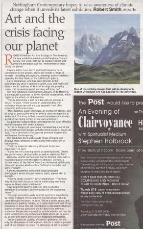 Nottingham Post, 14 January 2015