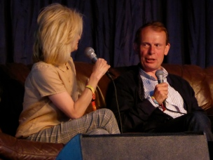 Kate Fox and Andrew Marr