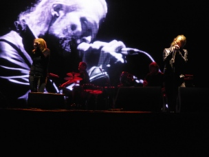 Beth Gibbons and Thom Yorke