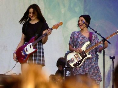 Theresa Wayman and Lenny Lee Lindberg, Warpaint