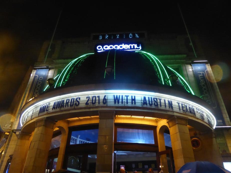 NME Awards 2016,Brixton