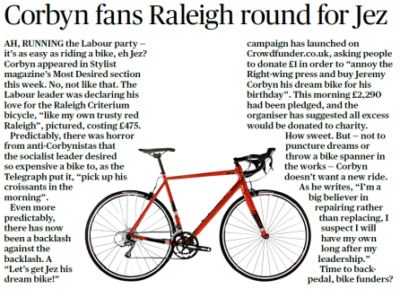 corbynbike